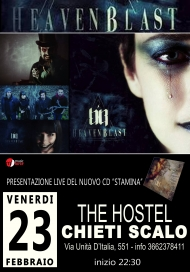 Gli HeavenBlast live al The Hostel